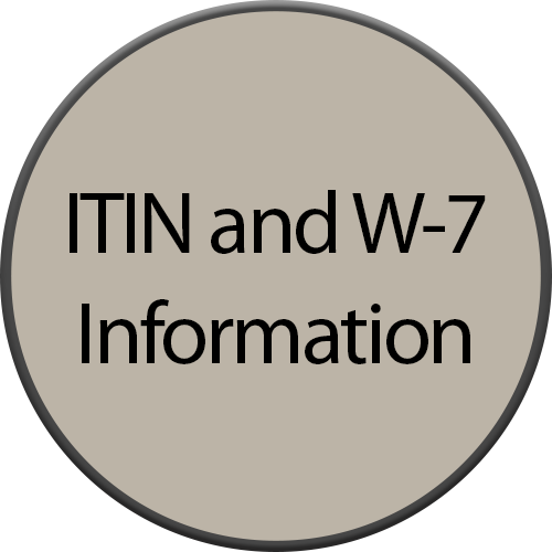ITIN and W-7 Information